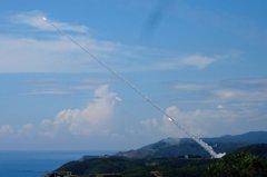 九鵬基地測試防空飛彈攔截 早起村民聽到天空爆炸聲