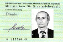 曾目擊東德共產政權垮台 普亭的秘密警察通行證曝光