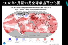 地球在發燒!賈新興:今年地球體溫恐為史上第4高