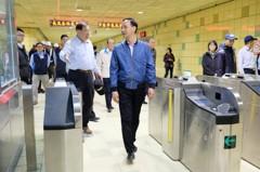 新北環狀線第一階段月底完工 新店到新莊省20分鐘