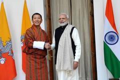 不丹總理訪問印度 莫迪宣布金援近200億元