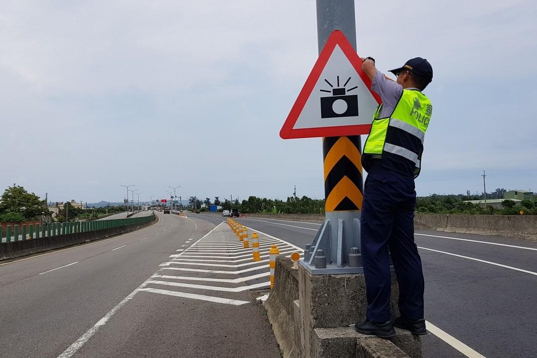 西濱苗栗段最快3月設第1支測照桿 加強取締超速