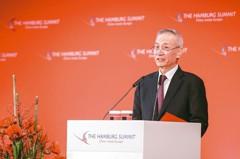 劉鶴現身中美談判 中國外交部:看望代表合情理