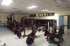 館長霸氣捐百萬健身器材 林口分局變身專業健身房