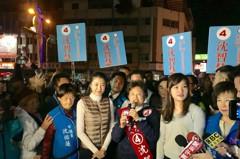 韓冰來了!台中天津年貨大街暴動了