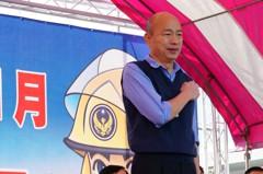 韓國瑜曝:在立院推動消防署設立就是我韓國瑜