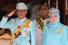 前元首閃退 馬來西亞新蘇丹宣誓就職