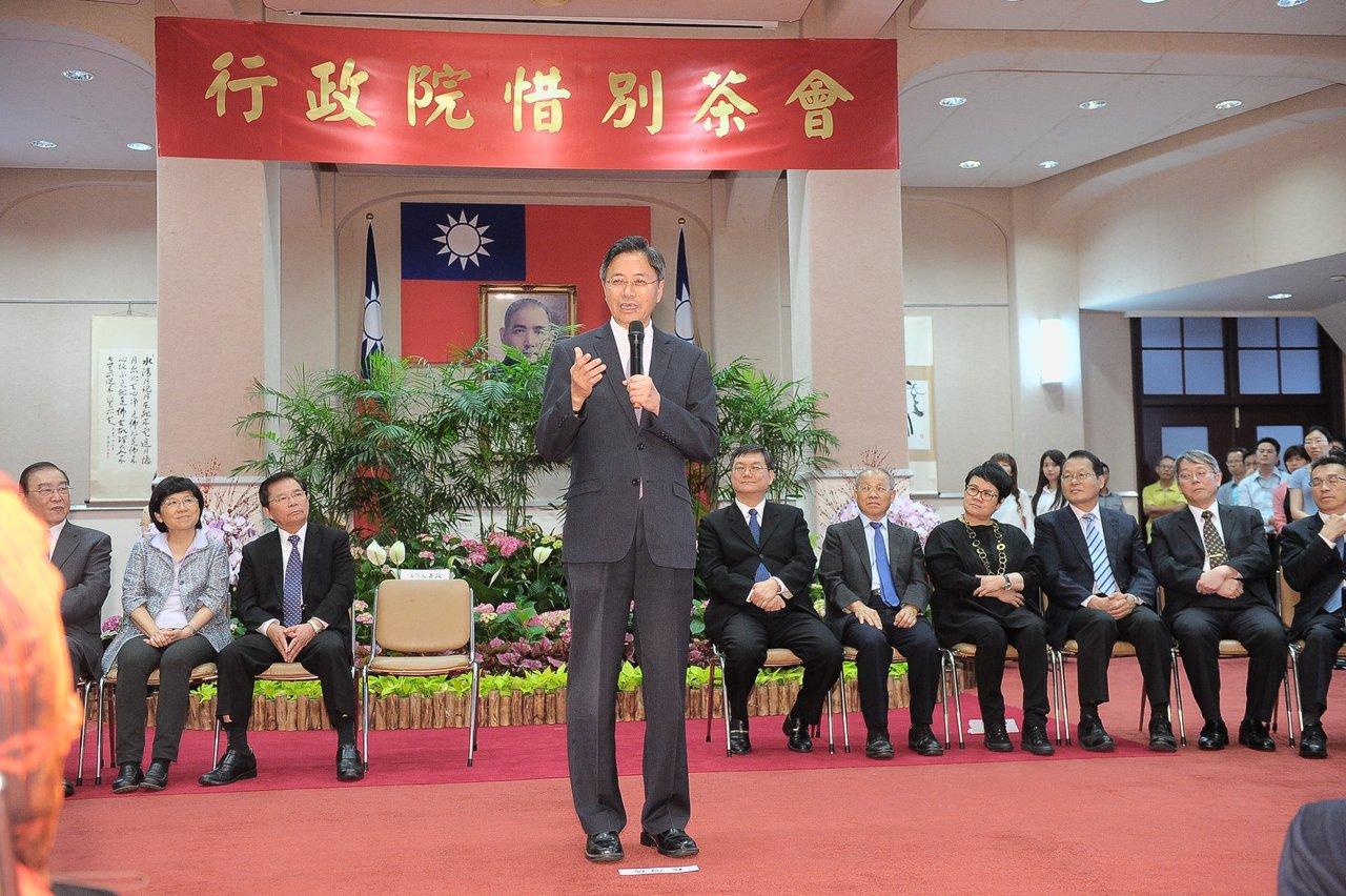 張善政:蘇貞昌可能是蔡英文的末代院長