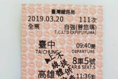 台鐵35年老車票大改版 橫式變直式