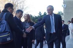 柯文哲華府拜會包道格 證明他能處理華府與台北的關係
