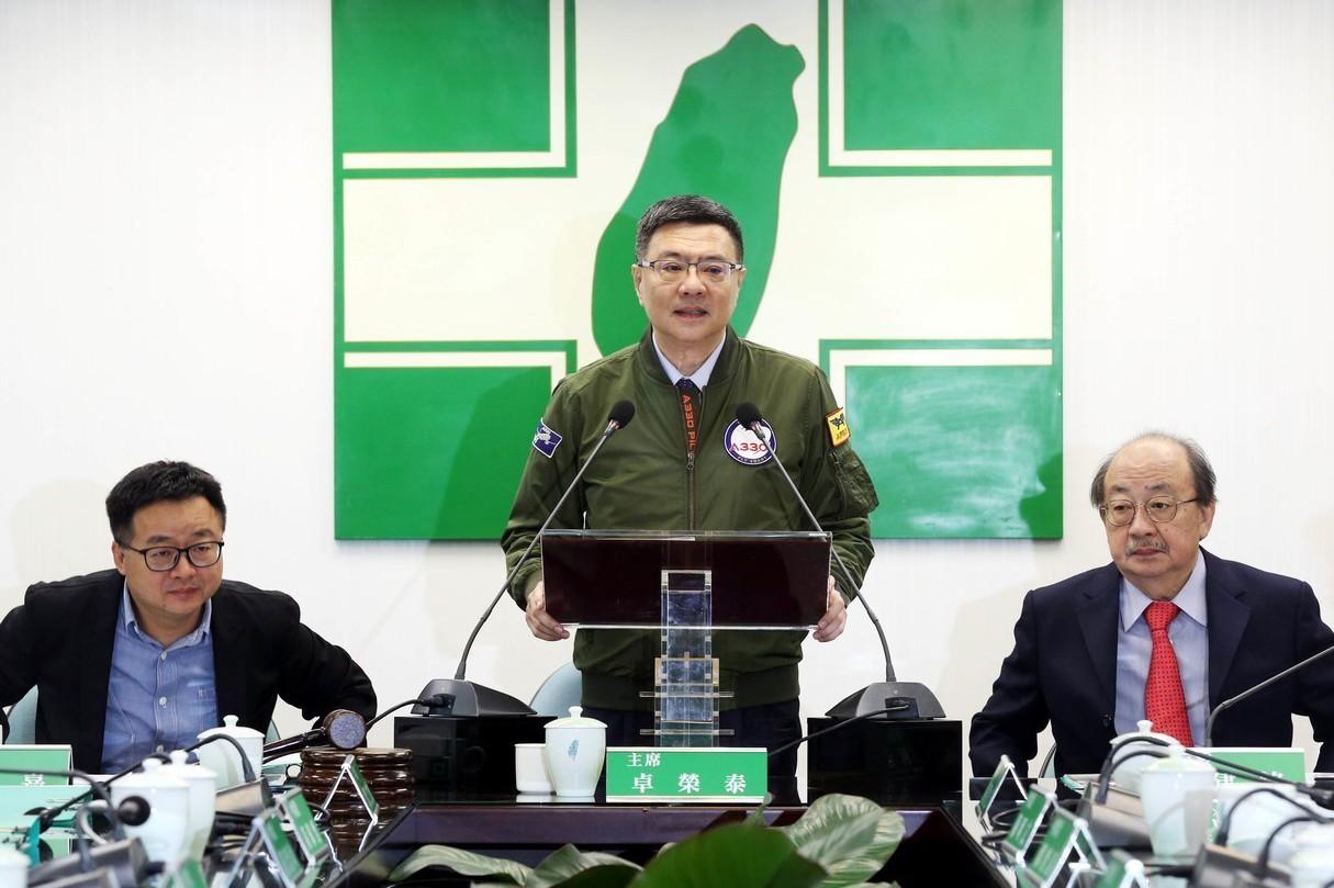 卓鄭菊昌柯五巨頭 負責協調民進黨總統及立委提名