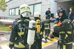 消防檢測不慎… 中科美光廠二氧化碳外洩 11人送醫