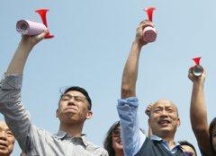 TVBS民調:韓國瑜支持度領先賴清德、柯P、蔡英文