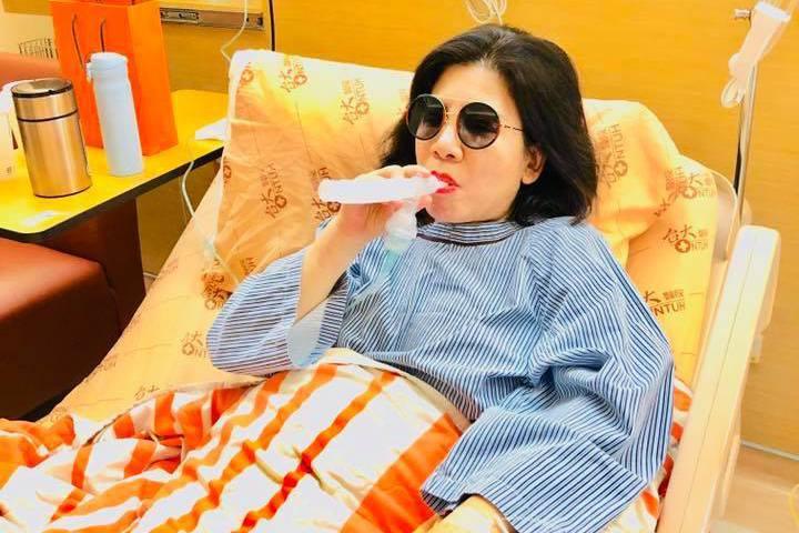 右肺又發現腫瘤 陳文茜反應竟是這樣