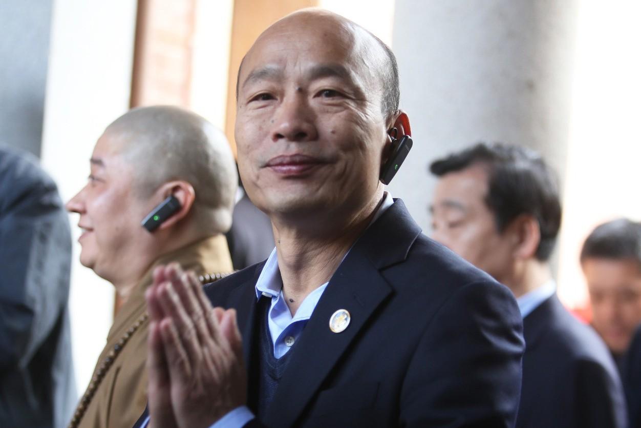 選不選2020?韓國瑜:老鼠拖拖鞋 大的在後頭