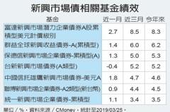 新興債有潛力 漲多拉回可布局