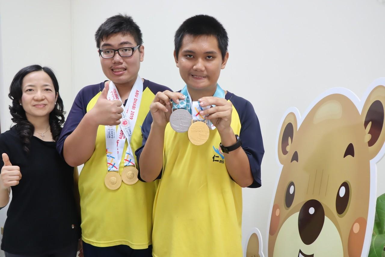 為國爭光!特教生參加2019夏季特奧運動會穿金戴銀