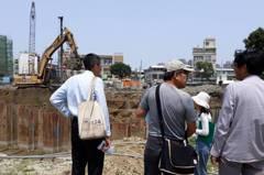 台南三分子日軍遺址周邊建商開挖 再發現疑似古物