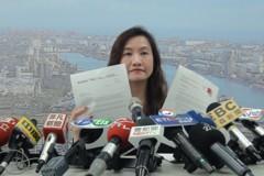 王淺秋出示哈佛和史丹福邀韓國瑜函 要王丹道歉