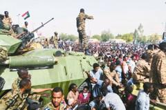 憂蘇丹軍方接管噩夢重演 抗議民眾如洗三溫暖