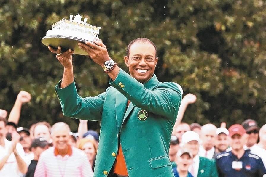 老虎伍茲重奪冠軍 復盛估高爾夫球具業受惠