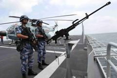 中共海軍閱兵 美國僅派上校出席