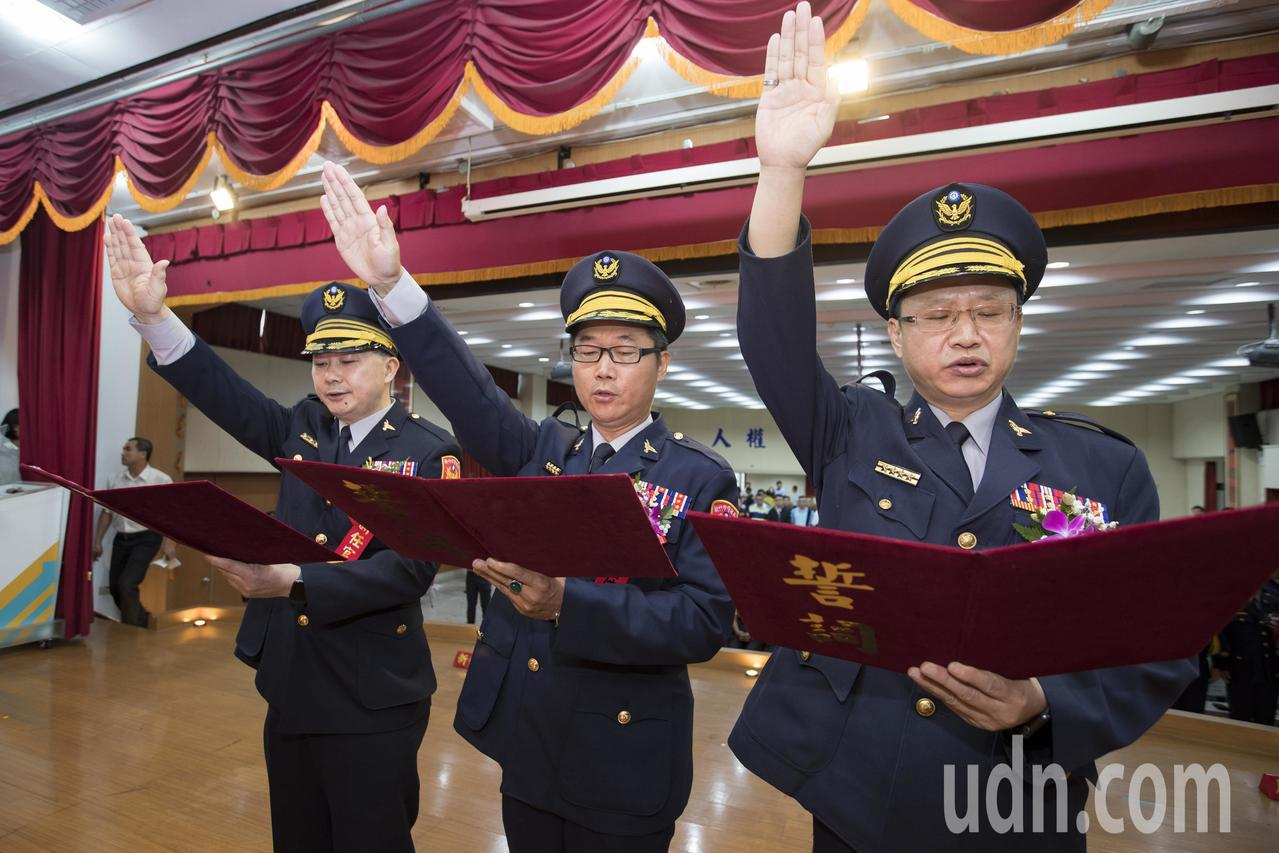 新竹市警分局長大洗牌 林智堅承諾警力補好補滿