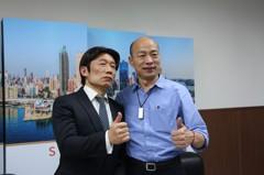 韓國瑜與「賴青德」對談 「打包見土包」為賴抱不平