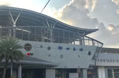 台鐵屏東、潮州站新建完工後 周邊店面兩樣情