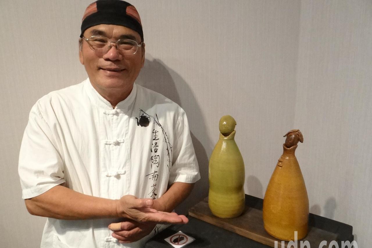 陶藝家眼中的韓國瑜 除了禿頭還會有什麼特徵?