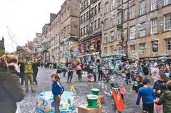 好讀周報/英愛丁堡「無車日」試行開放街道 禁行燃油車輛