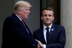 馬克宏潑川普冷水:法國不會對華為實施過度保護主義