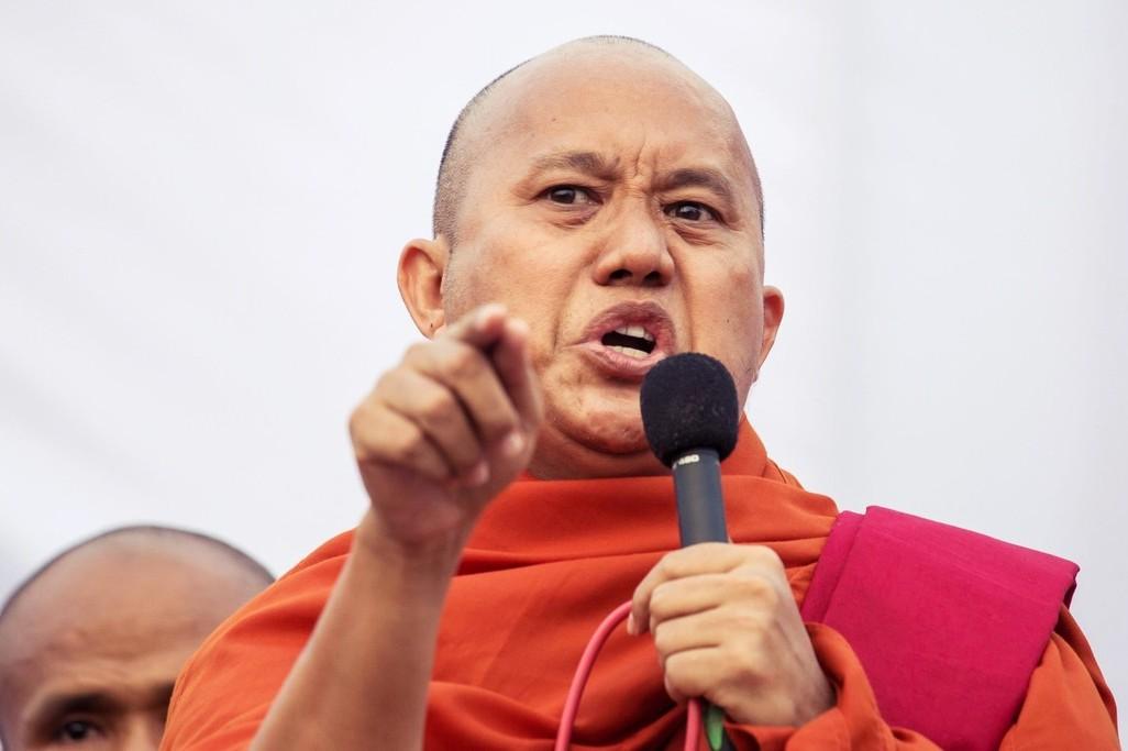 「佛教賓拉登」觸怒軍方底線?緬甸通緝激進和尚威拉杜