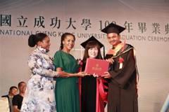 非洲史瓦帝尼王子取得成大碩士 感謝台灣