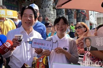 賴清德屏東出發 請支持者初選民調守住電話、守護台灣