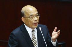 蘇揆:行政院院會都錄影對外公布 非針對韓國瑜