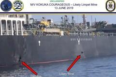 駁美國水雷說法 日本油輪:船員目睹遭飛行物攻擊