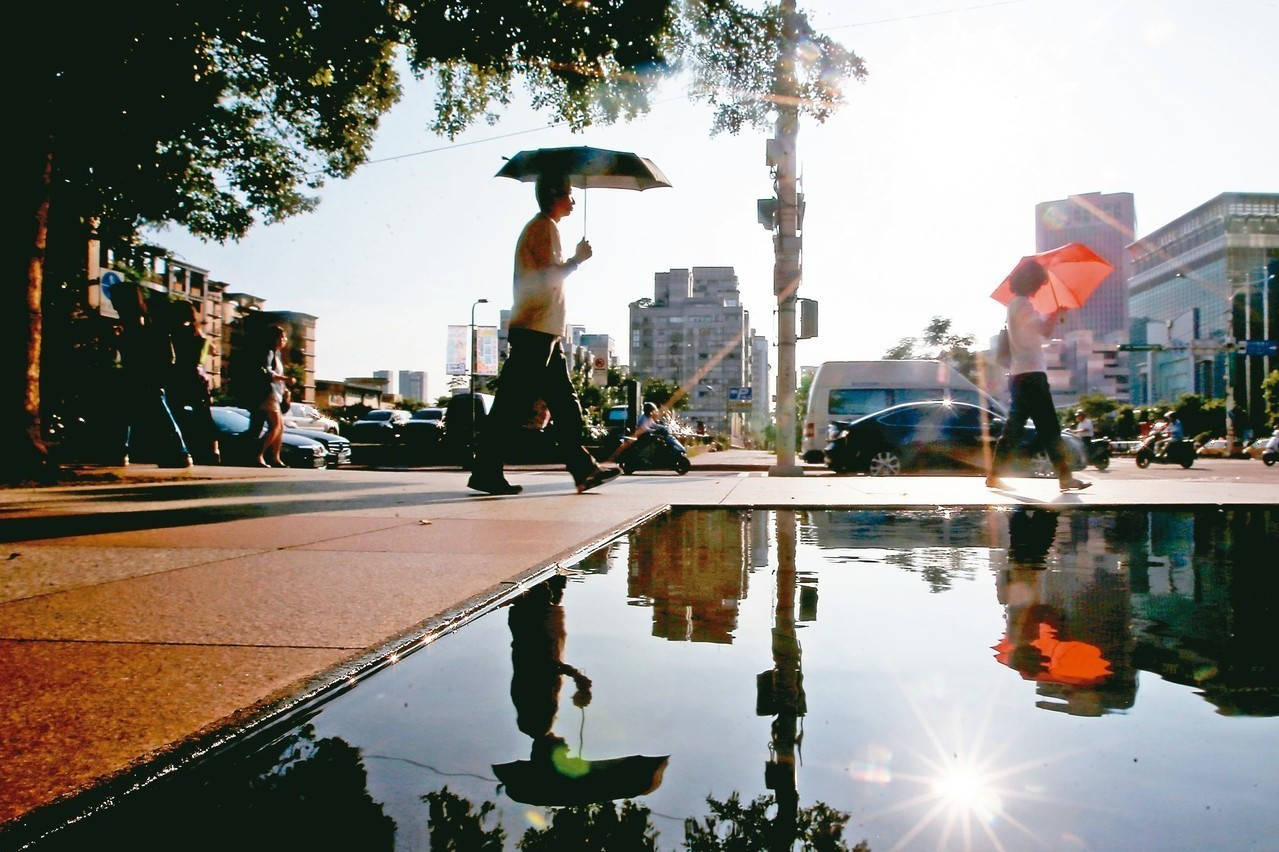 哪裡最熱?暴雨、落雷兩把刀 一張圖看大台北熱島分布