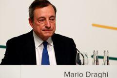 歐洲央行總裁暗示可能降息 歐股勁揚