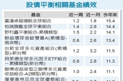 股債平衡基金 抗震