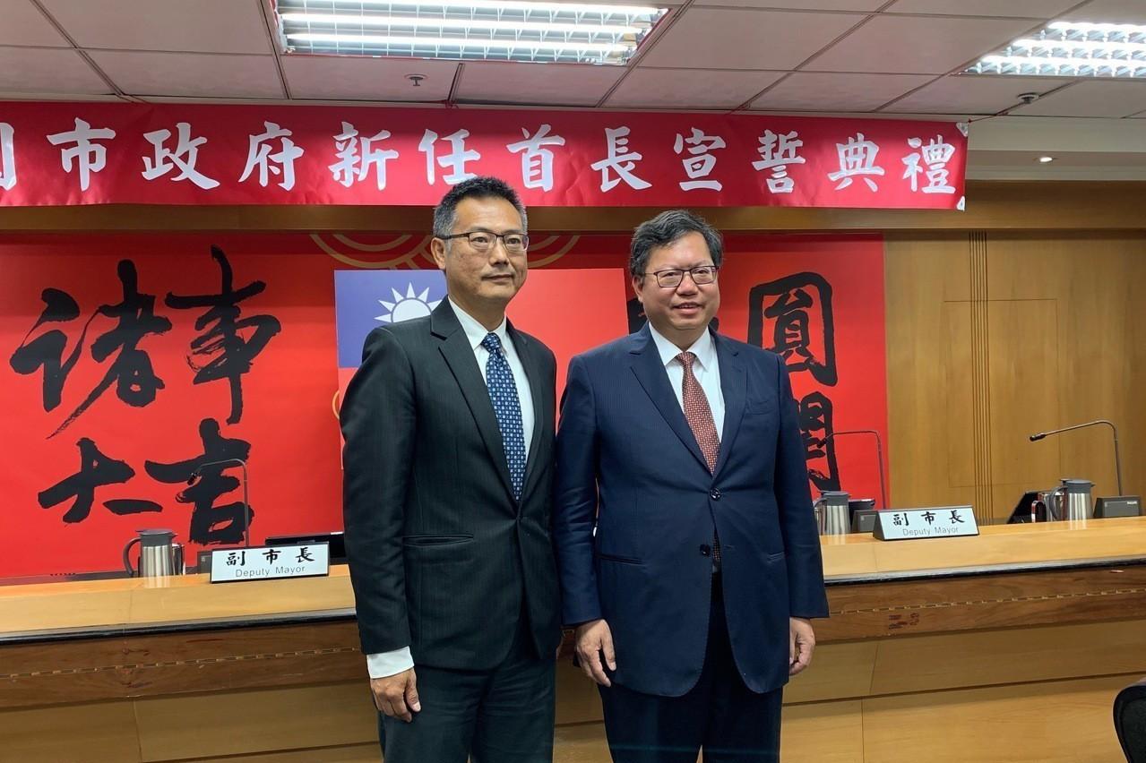 科技部副司長賴宇亭返鄉任桃市工務局長 今宣誓就職