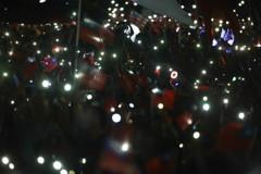 韓國瑜台中造勢唱「堅持」 萬人手機燈海聲援美翻