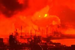 費城煉油廠大火 5人受傷