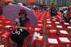 韓國瑜到台中 派系大老「還人情」檯面下力挺