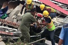 豆腐渣?柬埔寨中資大樓倒塌28死多人傷