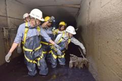 韓國瑜鑽下水道:清淤奏效 近期數波強降雨高雄未淹