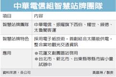 中華電組隊 建智慧站牌