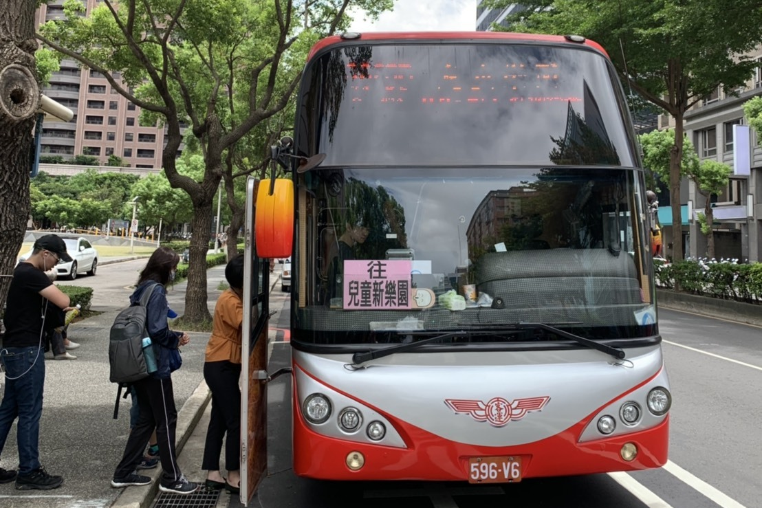 桃園直達台北兒童新樂園 專車暑假上路受好評