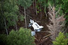 澳洲製飛機在瑞典墜機9死 63架同型機停飛