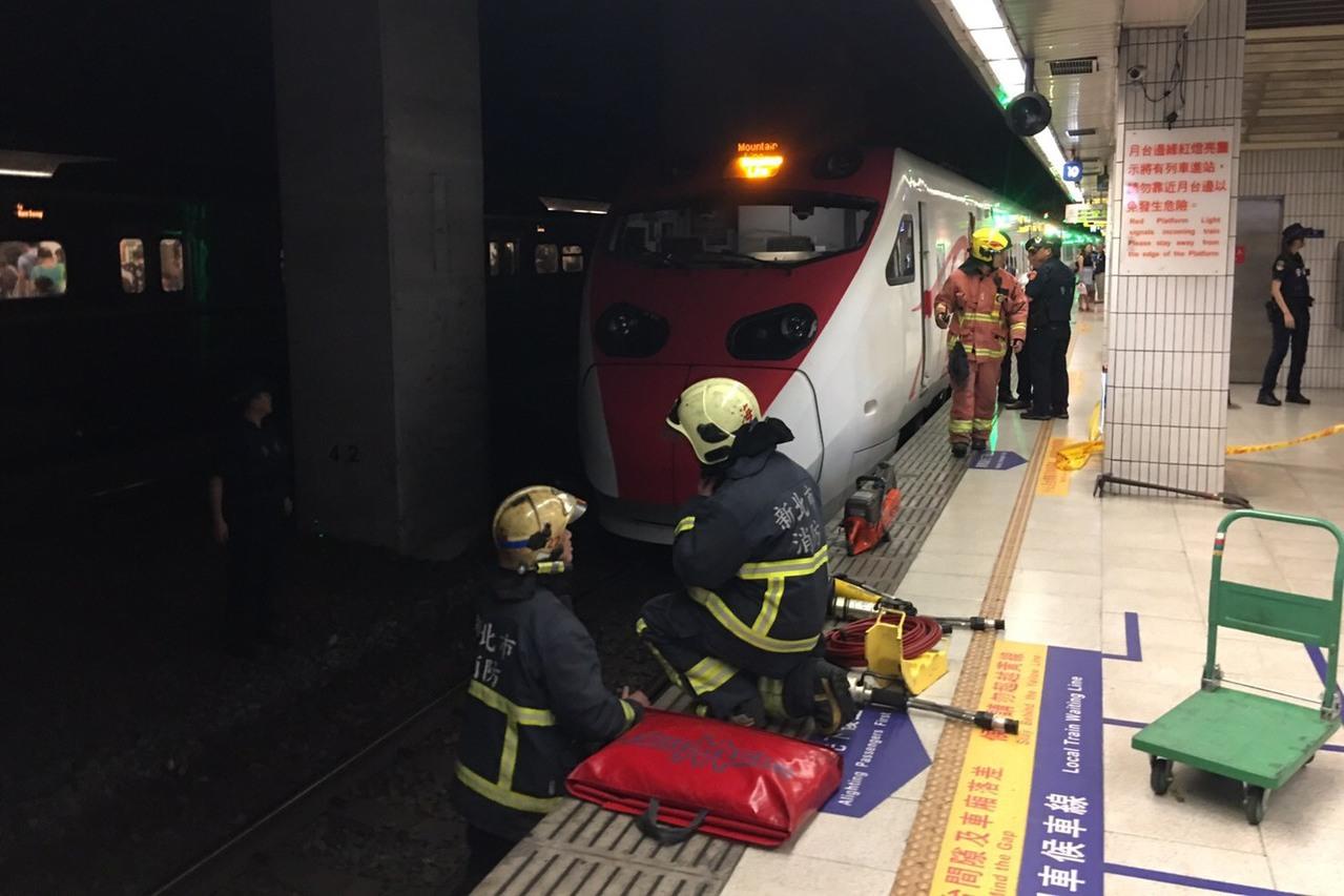 板橋車站普悠瑪事故 警方證實女子自行跳下
